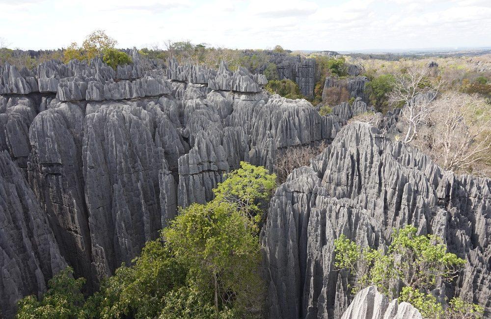 tsingy of bemaraha park